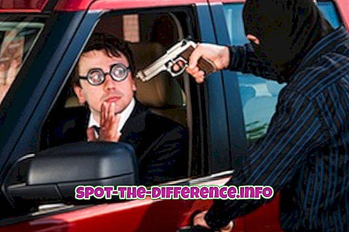 Perbedaan antara Felony dan Misdemeanor