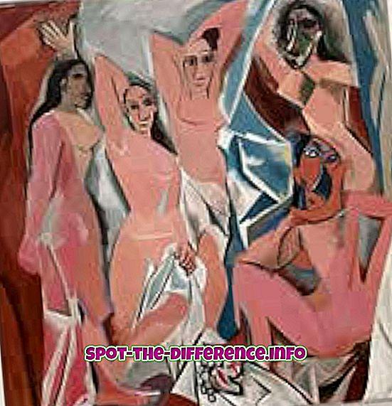 Verschil tussen moderne en hedendaagse kunst
