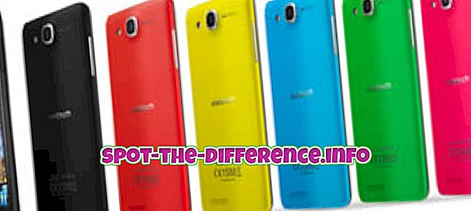 Differenza tra Alcatel One Touch Idol Ultra e LG Optimus F5