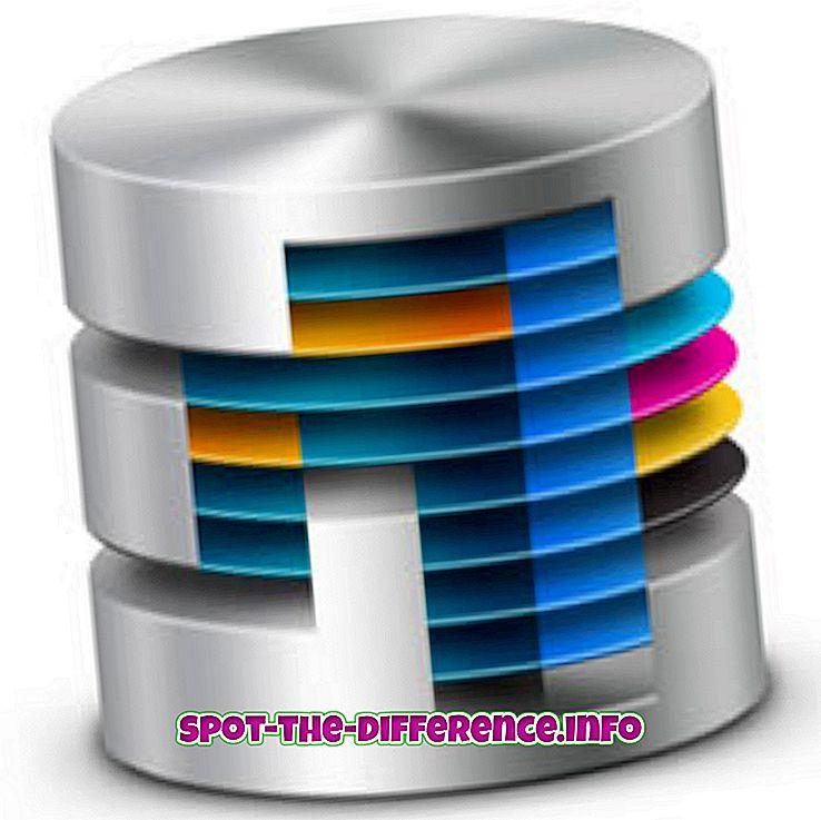 차이점: 스키마와 데이터베이스의 차이점
