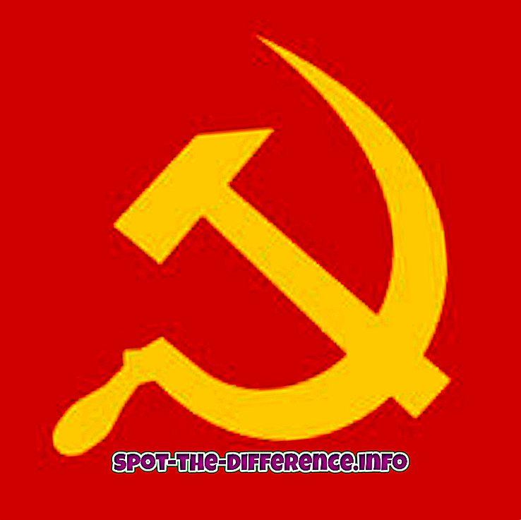 diferencia entre: Diferencia entre comunismo y democracia.
