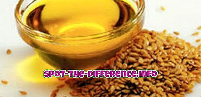 Rozdiel medzi olejom z ryžových jadier a olejom z kanolového oleja