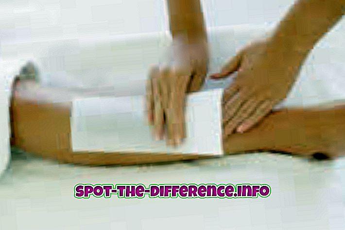 Разлика между парафиниране и счупване