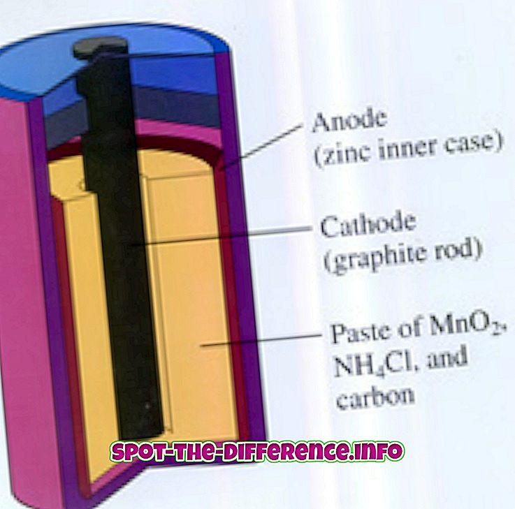 차이점: 셀과 배터리의 차이점