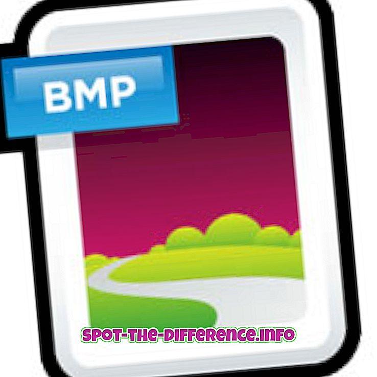 Rozdiel medzi Bitmap a Jpeg