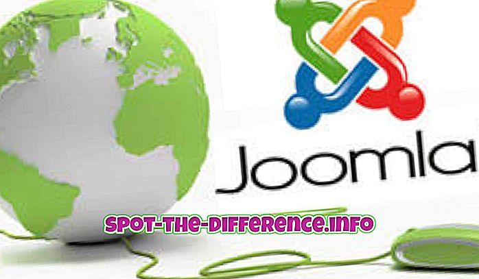 Rozdíl mezi Joomla 1.5 a Joomla 2.5
