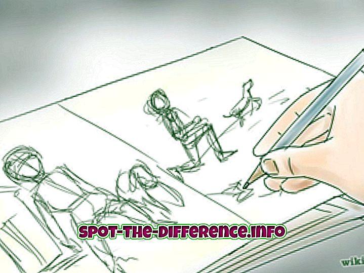 Forskel mellem demonstrere og illustrere