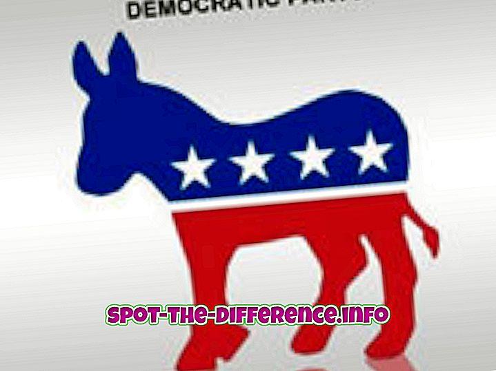 Demokraatide ja vabariiklaste vaheline erinevus