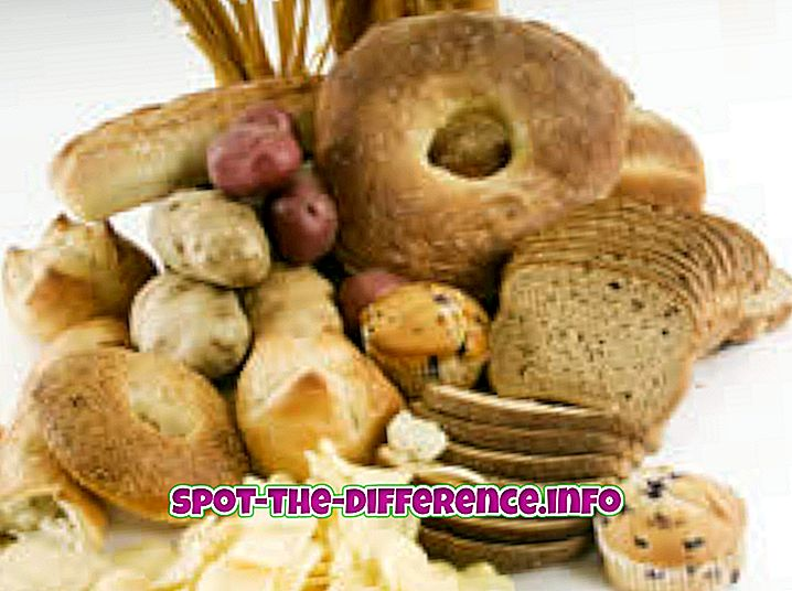 atšķirība starp: Starpība starp labu ogļhidrātiem un sliktiem ogļhidrātiem