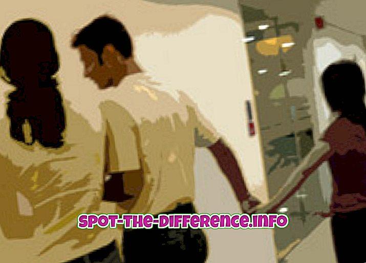 Unterschied zwischen: Unterschied zwischen Ehebruch und Bigamie
