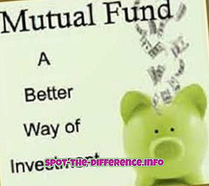 różnica pomiędzy: Różnica między funduszem wzajemnym a ULIP