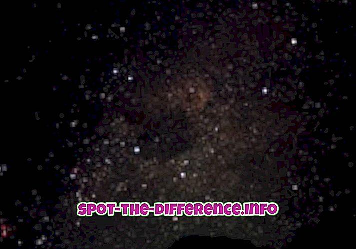 Différence entre les étoiles et les planètes
