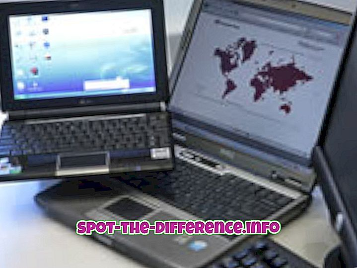 Differenza tra laptop e netbook