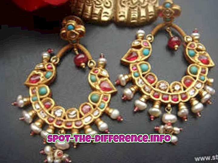 Differenza tra Kundan e Polki Jewelry