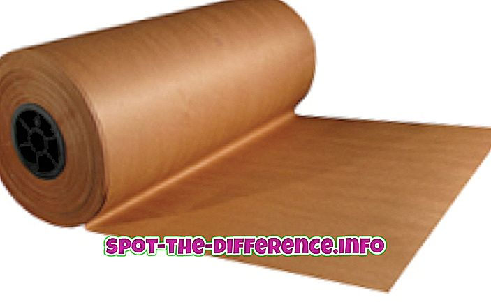 forskjell mellom: Forskjellen mellom Slakterpapir og Fryserpapir