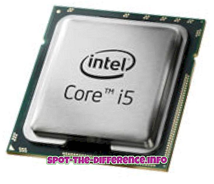 Unterschied zwischen Intel i5 und i7