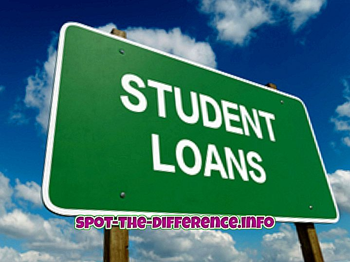 forskel mellem: Forskel mellem subsidierede lån og ufinansierede lån