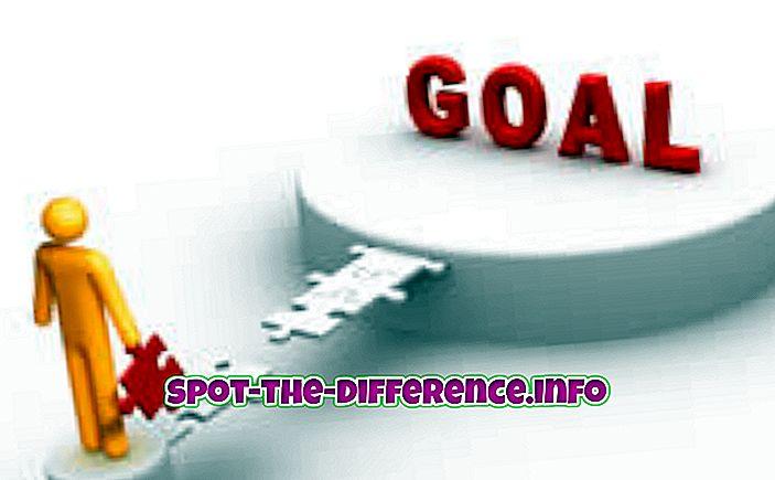 Hedefler ve Amaçlar Arasındaki Fark