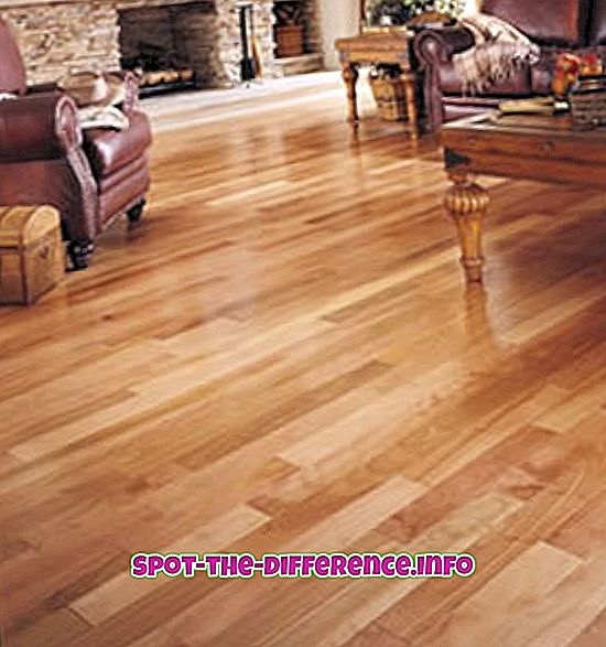 Verschil tussen Hardwood en Engineered Flooring