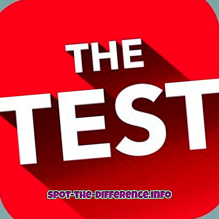Forskel mellem prøve og eksamen