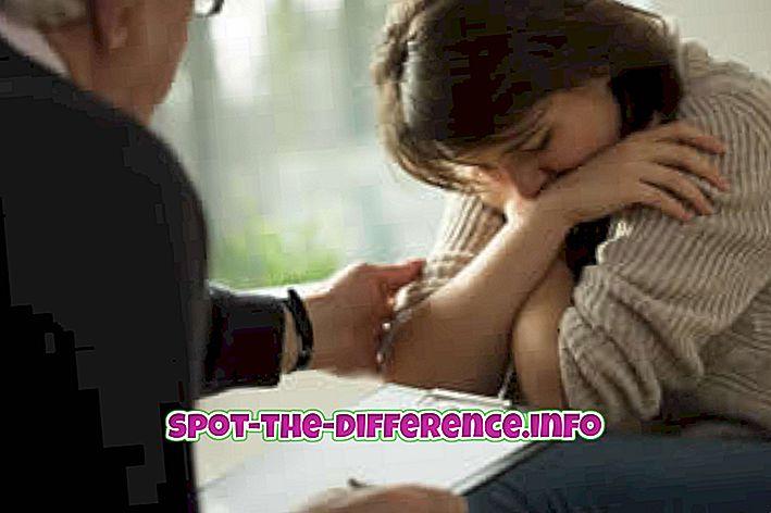 atšķirība starp: Atšķirība starp terapeitu un psihiatru