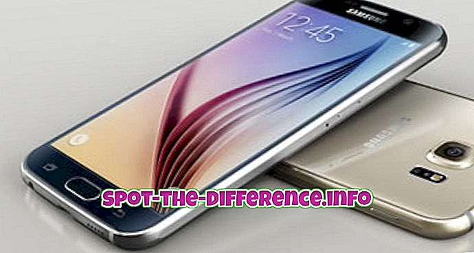 perbedaan antara: Perbedaan antara Samsung Galaxy S6, iPhone 6 dan iPhone 6 Plus