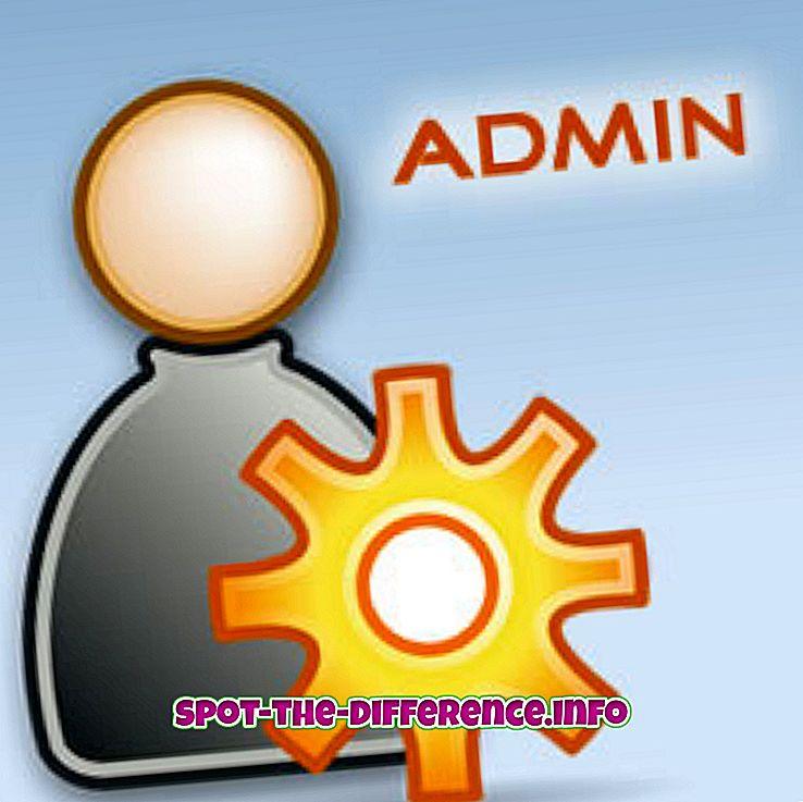 Administraatori ja moderaatori vaheline erinevus