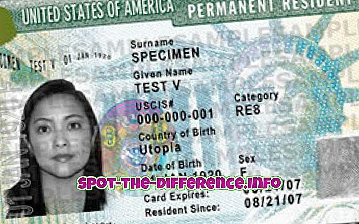 Разлика между постоянните жители и гражданите