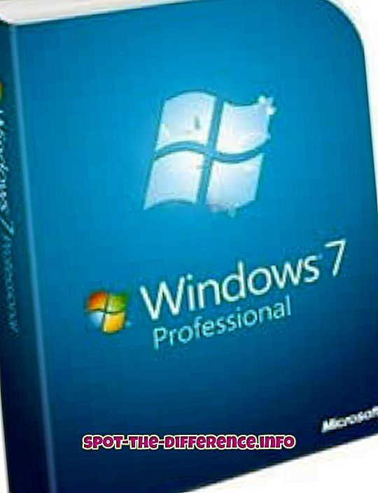 Erinevus Windows 7 Professionali ja Enterprise'i vahel