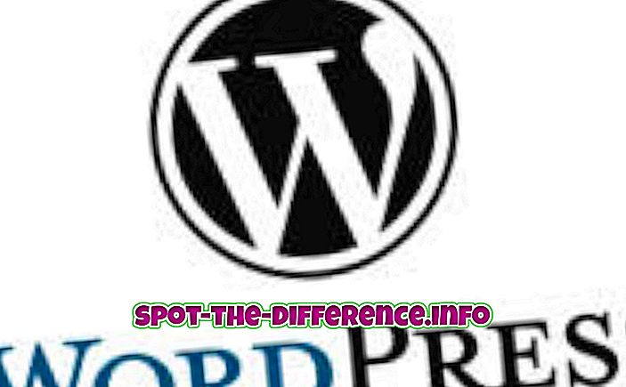 sự khác biệt giữa: Sự khác biệt giữa WordPress và Drupal