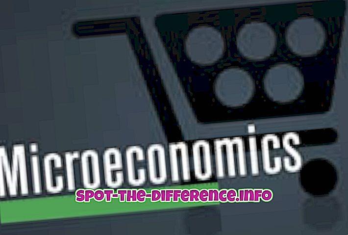Différence entre microéconomie et macroéconomie