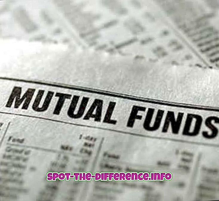Razlika između uzajamnog fonda i SIP-a