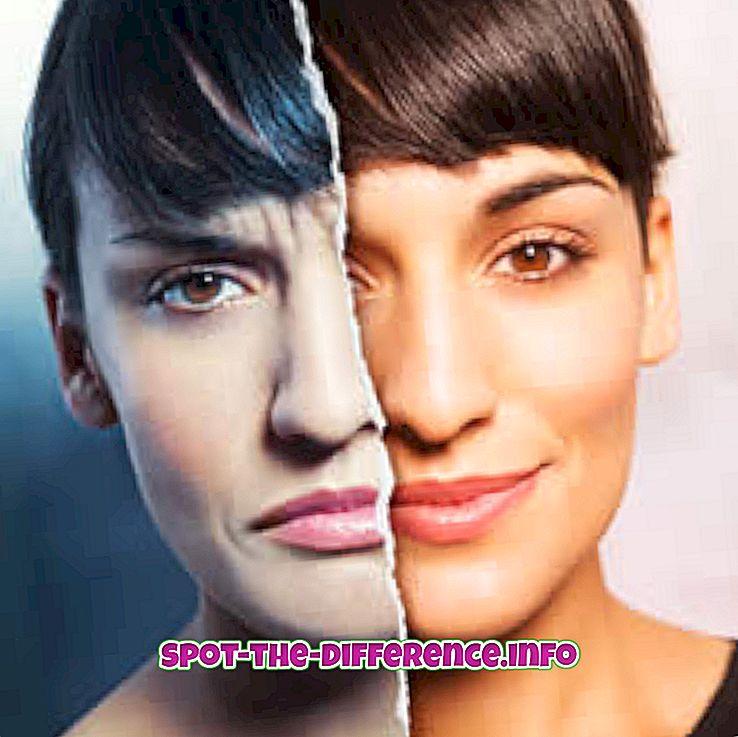Forskjell mellom bipolar og skizoaffektiv sykdom