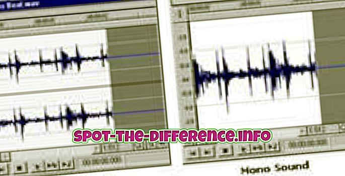 Forskel mellem Mono og Stereo