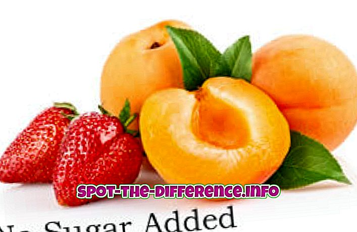 разлика између: Разлика између без шећера и без шећера