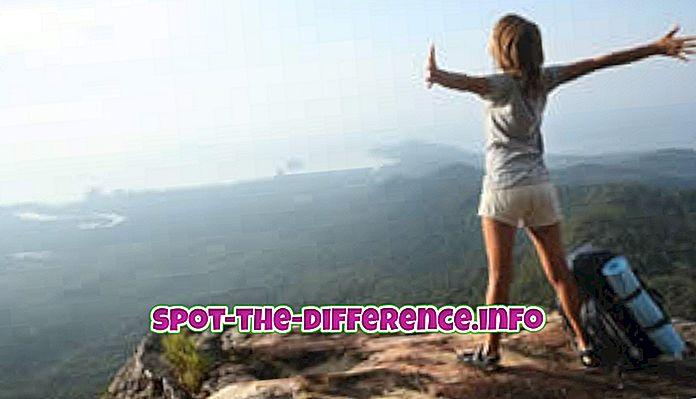 Razlika između putnika i turista