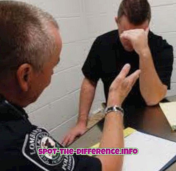 Starpība starp aizdomām un apsūdzētajiem