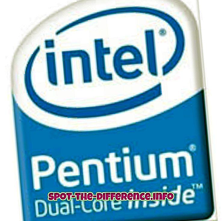 Разлика између Дуал Цоре и Интел и3