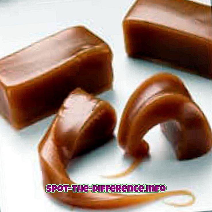 arasındaki fark: Karamel ve Butterscotch Arasındaki Fark