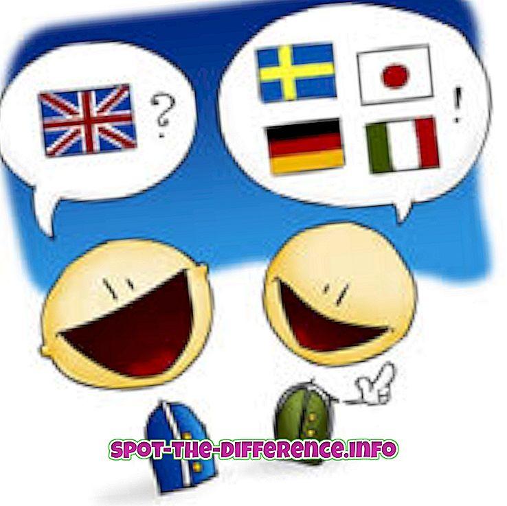 vahe: Erinevus aktsentide ja dialektide vahel