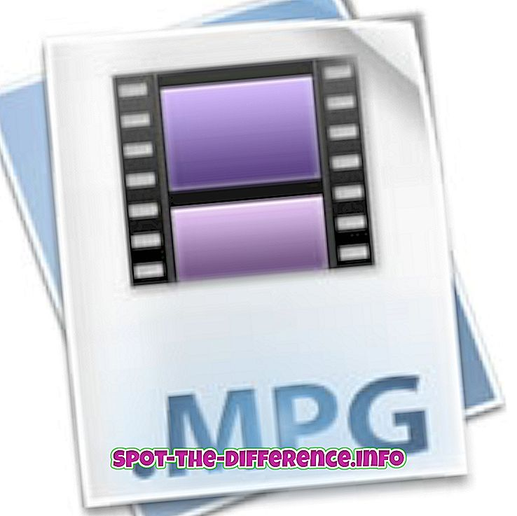 Differenza tra MPG e MP4