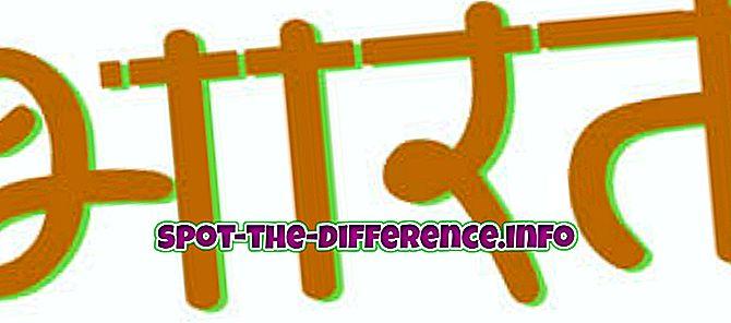 Разлика између Бхарат и Хиндустан