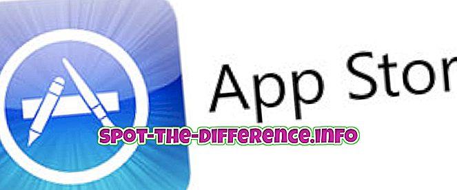 arasındaki fark: App Store ve iTunes arasındaki fark