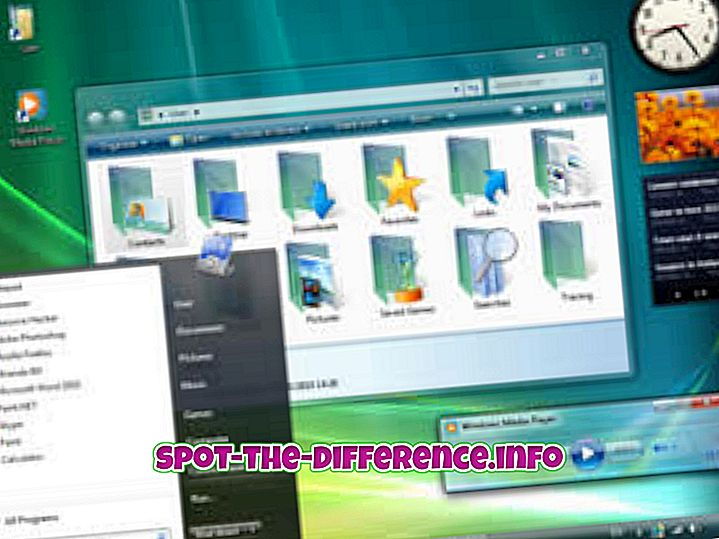 Diferencia entre Windows 7 y Windows XP