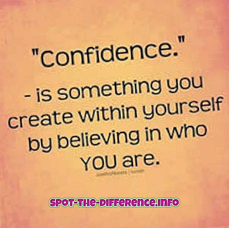 vahe: Usalduse ja ülitundlikkuse erinevus