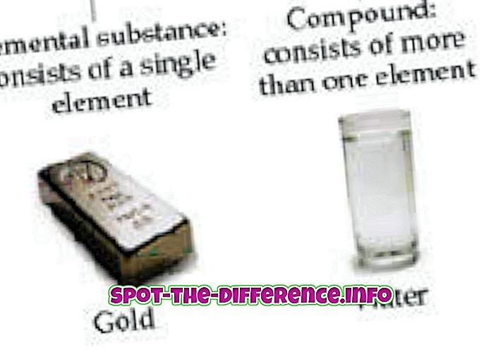 Segu ja ühendi erinevus