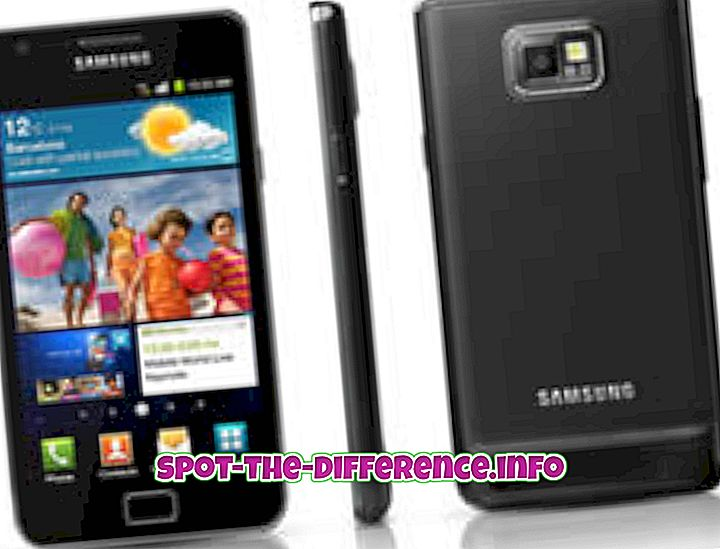 Différence entre Samsung Galaxy S2 et Samsung Galaxy S3