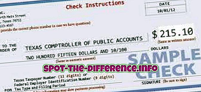 との差: ドラフトと小切手の違い