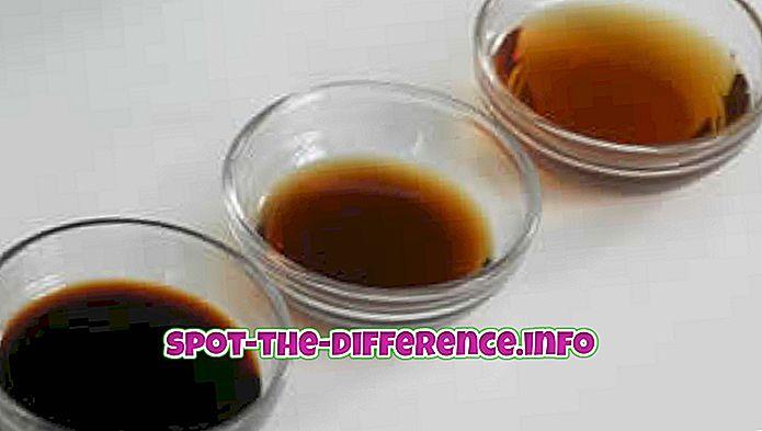 rozdiel medzi: Rozdiel medzi tamari a sójovou omáčkou