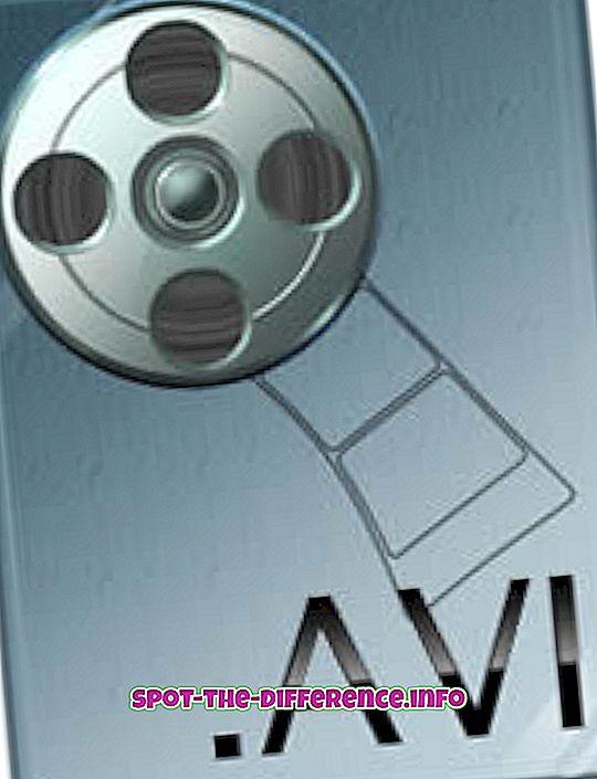 Разлика између АВИ и МКВ